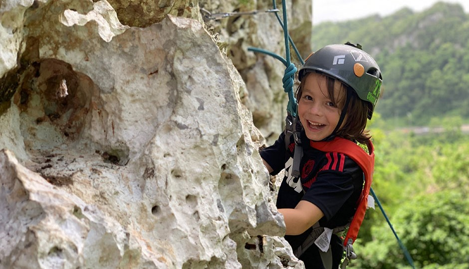 Give them unforgettable experiences!Rock Climbing Birthday
